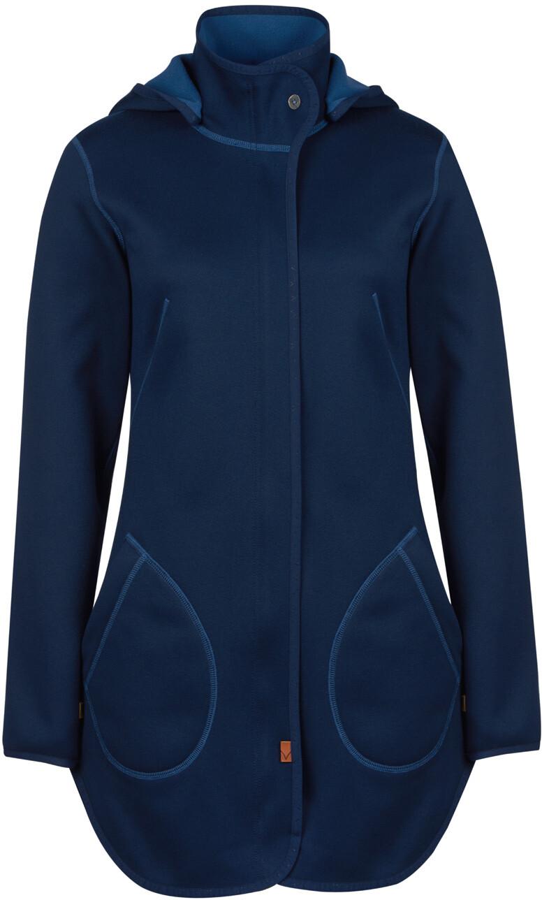 Hella O: Finside Hella Bonded Jacket Women Navy/denim At Addnature
